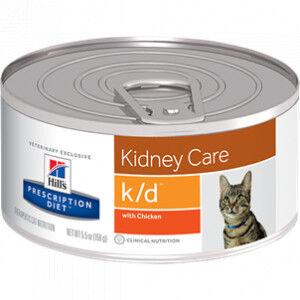 Hill's Prescription Diet Hill's Prescription K/D Kidney Care pâtée 156g pour chat 1 x 24 boites (156g)