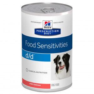 Hill's Prescription Diet Hill's Prescription D/D Food Sensitivities pâtée pour chien Par 4 paquets (48 x 370 g)