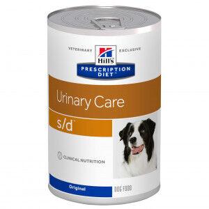 Hill's Prescription Diet Hill's Prescription S/D Urinary Care pâtée pour chien 370g Par paquet (12 x 370 g)