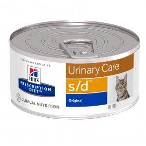 Hill's Prescription Diet Hill's Prescription S/D Urinary Care pâtée pour chat boite 156g 2 x 24 boites (156g)