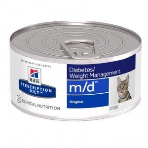 Hill's Prescription Diet Hill's Prescription M/D Diabetes Weight Management pâtée pour chat 2 x 24 boites (156g)