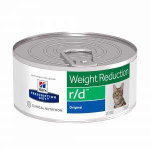 Hill's Prescription Diet Hill's Prescription R/D Weight Reduction pâtée pour chat 156g 1 x 24 boites (156g)