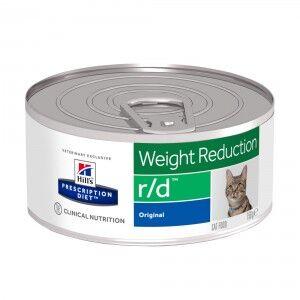Hill's Prescription Diet Hill's Prescription R/D Weight Reduction pâtée pour chat 156g 2 x 24 boites (156g)
