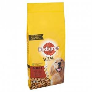 Pedigree Chien Adulte, au bœuf 2 x 10 kg