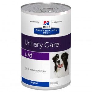 Hill's Prescription Diet Hill's Prescription U/D Urinary Care pâtée pour chien 370 g Par paquet (12 x 370 g)