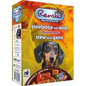 Renske Sans Céréales Ragoût pour chien 1 lot (10 x 395 g)