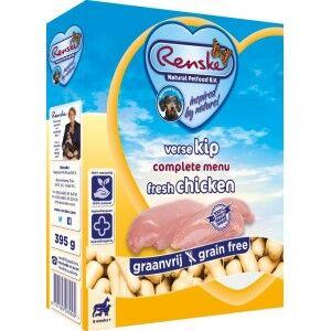 Renske Sans Céréales Poulet pour chien 1 lot (10 x 395 g)
