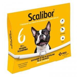 Scalibor Collier Scalibor Small/Medium pour Chien Par 5 unités