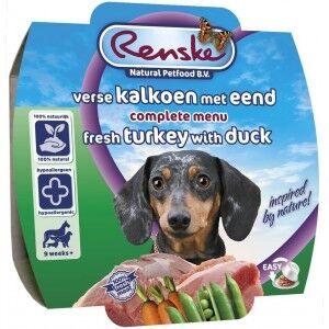 Renske Chien Dinde & Canard Frais 100g 8 x 100 g