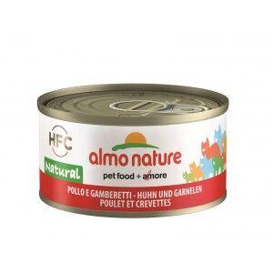 Almo Nature Poulet et Crevettes pour chat Par 24 boites (Natural)