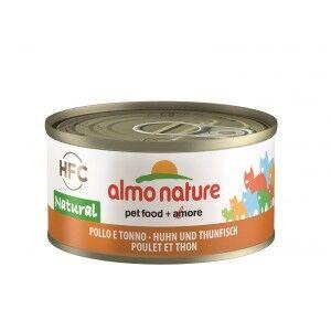 Almo Nature Thon et Poulet pour chat Par 24 boites (Natural)