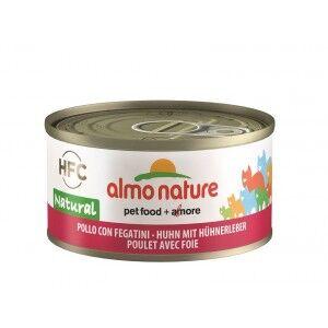 Almo Nature Poulet et Foie pour chat Par 24 boites (Natural)