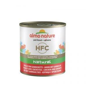 Almo Nature HFC Natural Poulet Crevettes 280g pour chat 6 x 280 gram