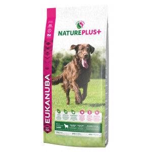 Eukanuba NaturePlus+ Large Breed agneau frais pour chien 2 x 10 kg
