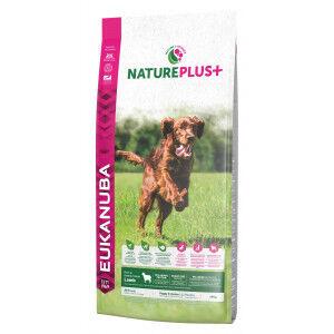 Eukanuba NaturePlus+ Puppy à l'agneau frais pour chiot 3 x 2,3 kg