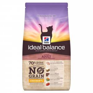 Hill's Ideal Balance Adult Grain Free Poulet pour chat 2 x 300 g