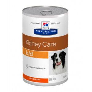 Hill's Prescription Diet Hill's Prescription Diet K/D Kidney Care pâtée pour chien 370 g Par paquet (12 x 370 g)