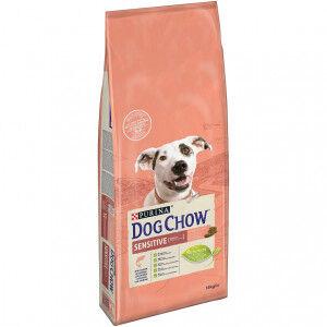 Dog Chow Adult Sensitive saumon riz pour chien 2 x 14 kg