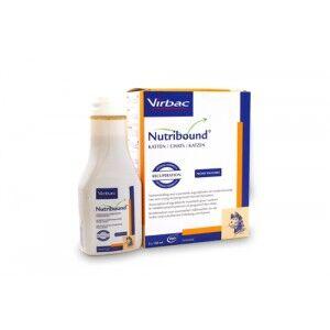 Virbac Nutribound pour chat - Complément alimentaire 3 x 150 ml