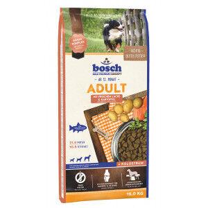 Bosch Adult Saumon et pommes de terre 15 KG  + 3  KG gratis