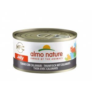 Almo Nature HFC Jelly Thon Calamar pour chat Per 6 (Legend)