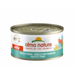 Almo Nature HFC Jelly Thon et Truite pour chat Par 24 portions (Jelly)
