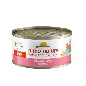 Almo Nature HFC Jelly Saumon pour chat Par 24 boites