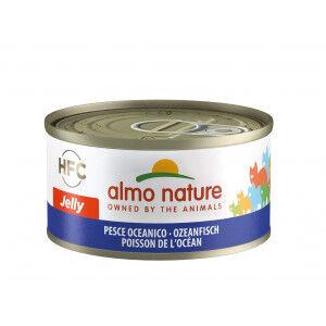 Almo Nature HFC Jelly Poisson de l'Océan pour chat Par 24 portions (Jelly)