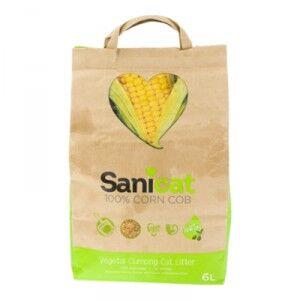 Sanicat Corn Cob Maïs 3 x 6 Litres