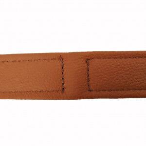 Collier en cuir souple Topaz pour chien 60cm x 30mm