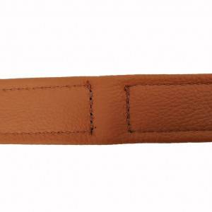 Collier en cuir souple Topaz pour chien 50cm x 25mm