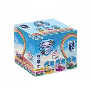 Renske Sans Céréales Multibox (30 x 100 g) pour chien 2 boîtes (60 unités)