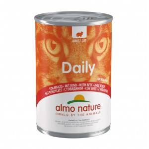 Almo Nature Daily Boeuf 400g pour chat 12 x 400 gram