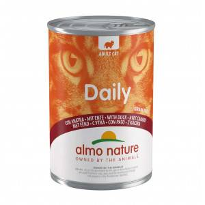 Almo Nature Daily Canard 400 gr pour chat 12 x 400 gram