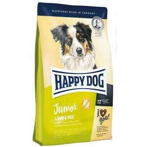 Happy Dog Supreme Junior Agneau & Riz pour chien 10 kg