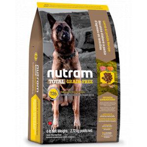 Nutram Total Grain-Free Agneau & Lentilles pour chien 11.34 kg