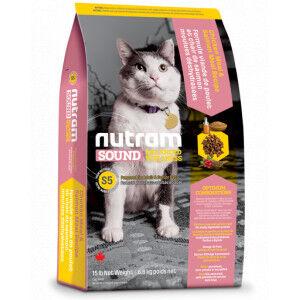Nutram Sound Balanced Welness Chat Adulte & Senior S5 2 x 1,13 kg