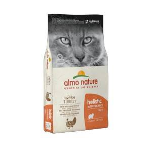 Almo Nature Holistic Chat Adulte Dinde/Riz 2 x 12 kg