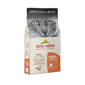 Almo Nature Holistic Chat Adulte Poisson Blanc/Riz 3 x 2 kg