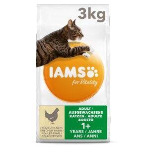 Iams for Vitality – Adulte au Poulet pour Chat 10 kg