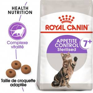 Royal Canin Chat Sterilised Appetite Control +7 2 x 3,5 kg