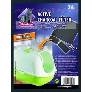Filtre à charbon pour bac à litière Universel Par 3 paquets