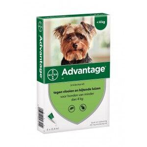 Advantage Nr. 40 pour chien S 5 pièces