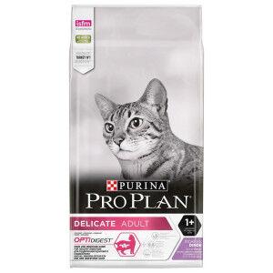 Pro Plan Délicat Adult Optidigest pour Chat 10 kg + gratuit Pro Plan Sterilised Poulet pâtée