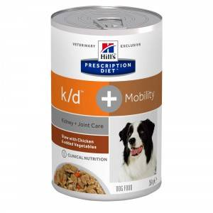 Hill's Prescription Diet Hill's Prescription Diet Kidney + Joint Care + Mobility conserve pour chien 2 x 12 boites
