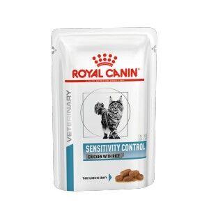 Royal Canin Veterinary Diet Royal Canin Veterinary Sensitivity Control pâtée pour chat 4 x (12 x 85g)