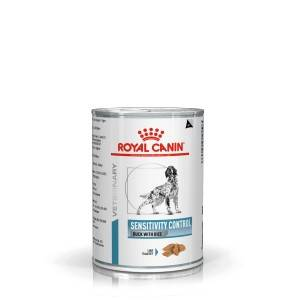 Royal Canin Veterinary Diet Sensitivity Control Conserve Canard et Riz pour Chien Par 4 paquets (48 x 420 g)
