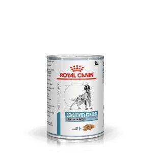Royal Canin Veterinary Diet Royal Canin Veterinary Sensitivity Control canard & riz conserve pour chien Par paquet (12 x 420 g)