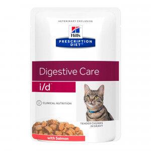 Hill's Prescription Diet Hill's Prescription I/D (i/d) Digestive pâtée pour chat au saumon 85g 96 x 85 gram
