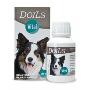 Doils Vital - Complément alimentaire pour chiens 3 x 236 ml